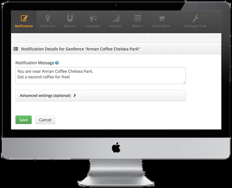 Dashboard2 create notification