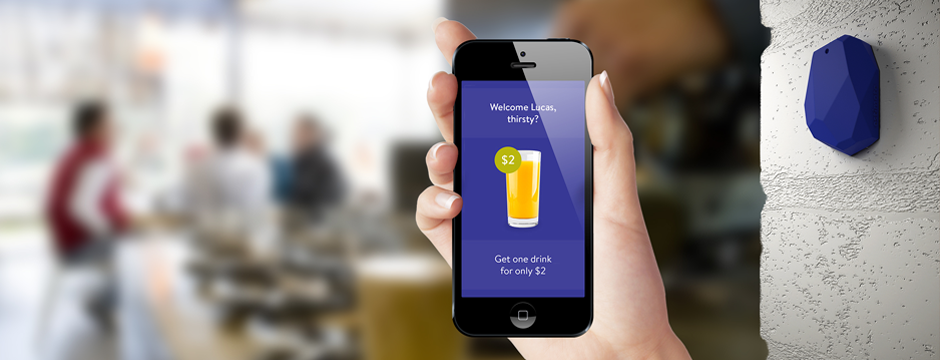 Plot Projects supports iBeacon Notifications