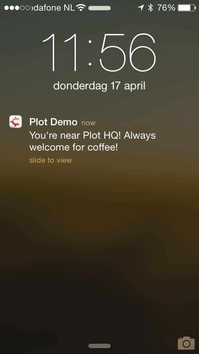 Plot Projects iOS Demo App