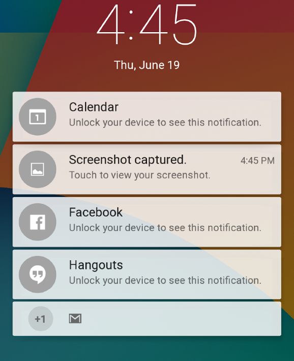 Private Notification Android