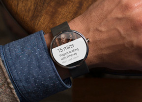 Example of Android Wear device