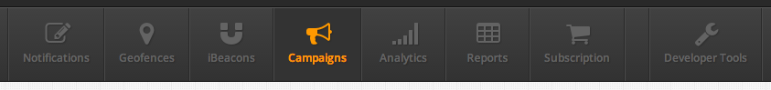 New Menu Bar in Plot Projects Dashboard