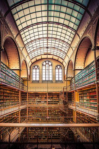 Stendelijk Library Amsterdam