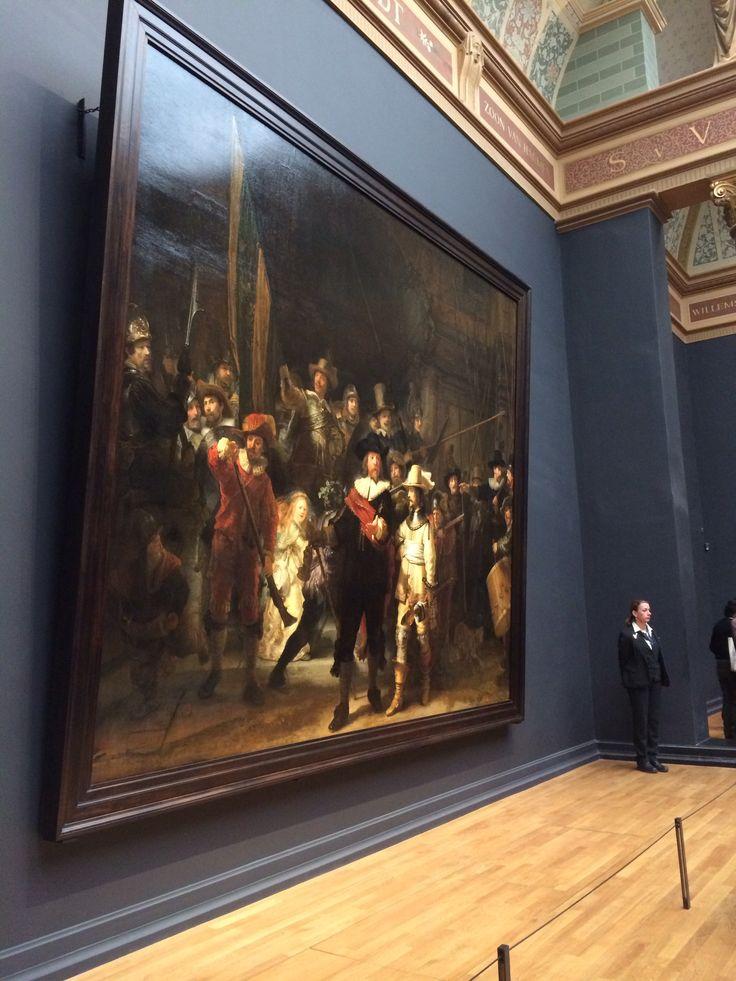 Rembrandt De Nachtwacht Rijksmuseum Amsterdam