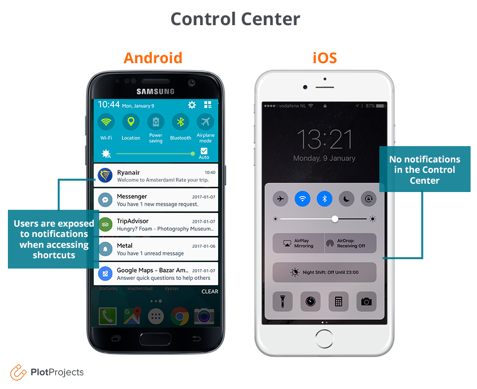 Control center ios vs android.png