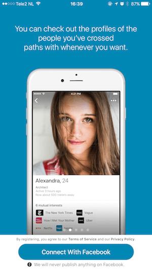 Dating App Priming Screen 1