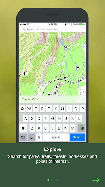 Navigation App Priming Screen 1