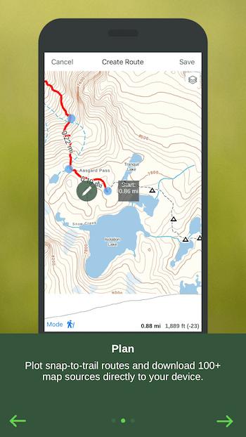 Navigation App Priming Screen 2