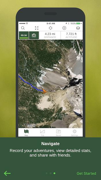 Navigation App Priming Screen 3