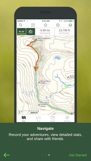 Navigation App Priming Screen 4