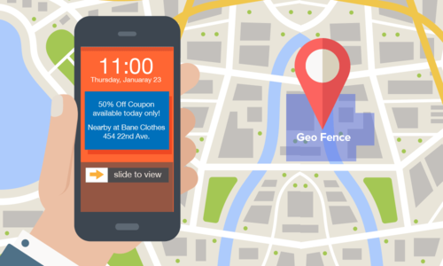 Geofencing is made possible with the Plot Projects SDK